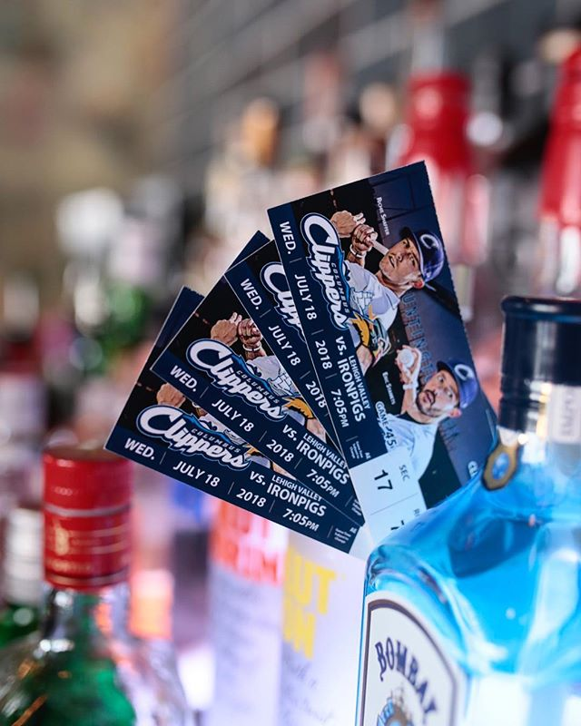 We're giving away 2 pairs of tickets to tomorrow's @clbclippers game!! To win follow our account, tag a friend, and comment with your favorite food or drink item from our new menu. We'll announce the winners tomorrow in our story.