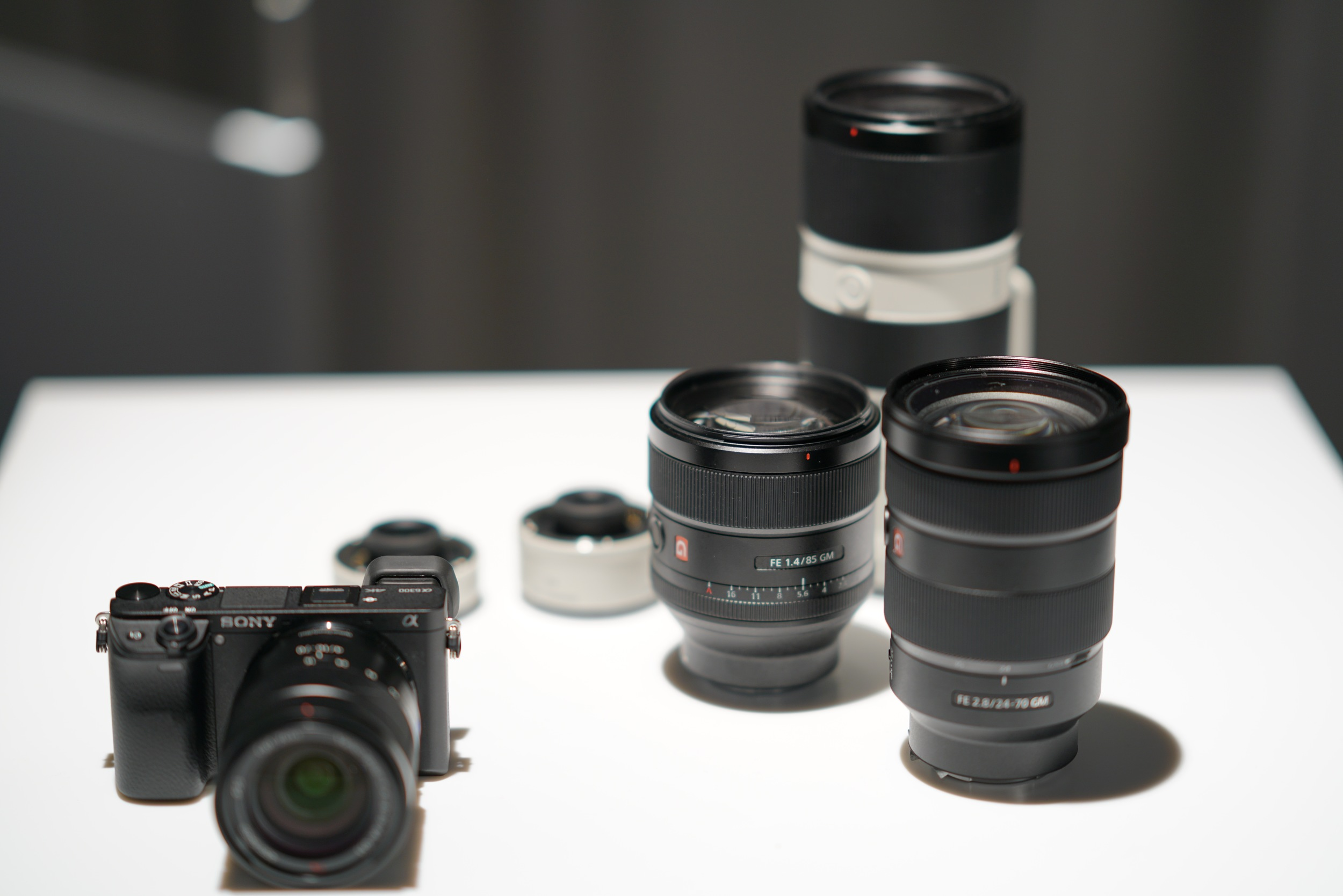 Pre-production Sony a6300, Sony FE 85mm f/1.4 GM, FE 24-70mm f/2.8 GM, 70-200mm f/2.8 GM, 1.4 and 2x teleconverters