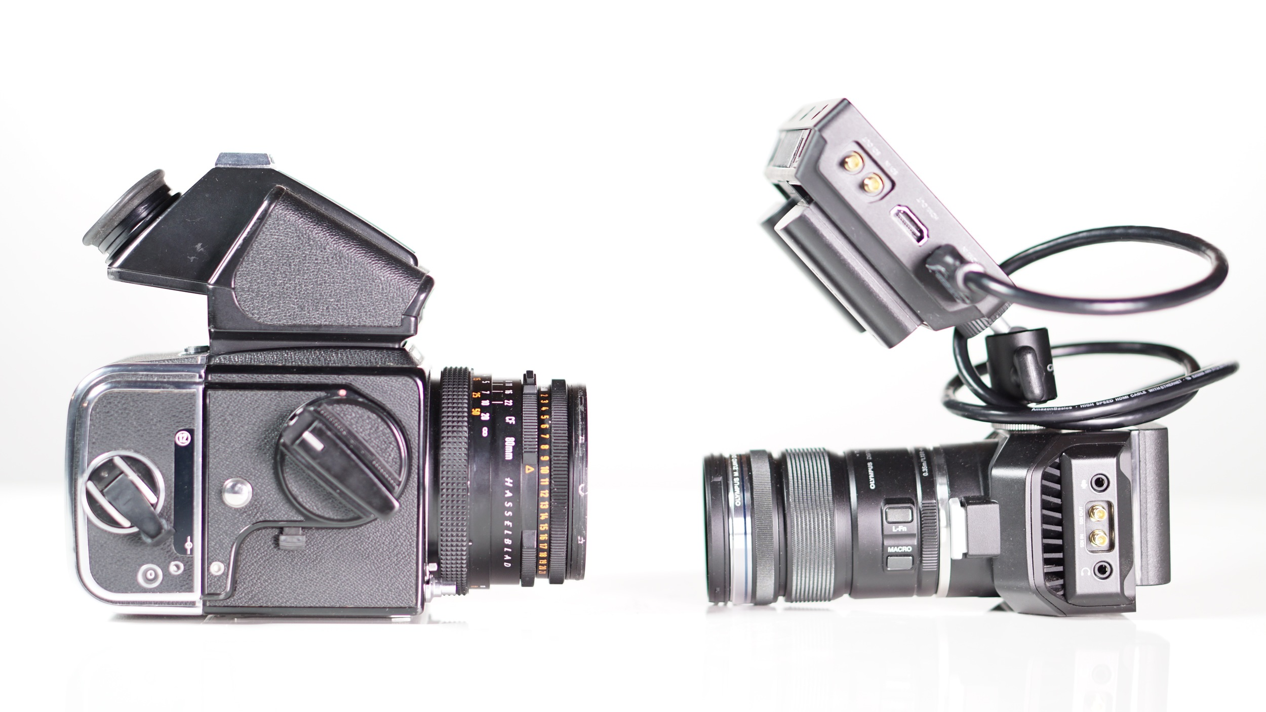 Back To The Future Blackmagic Design S New Micro Studio 4k Is A Mashup Of Their Studio Camera 4k A Gopro Hero And The Legendary Hasselblad 500c And An Indication Of Where