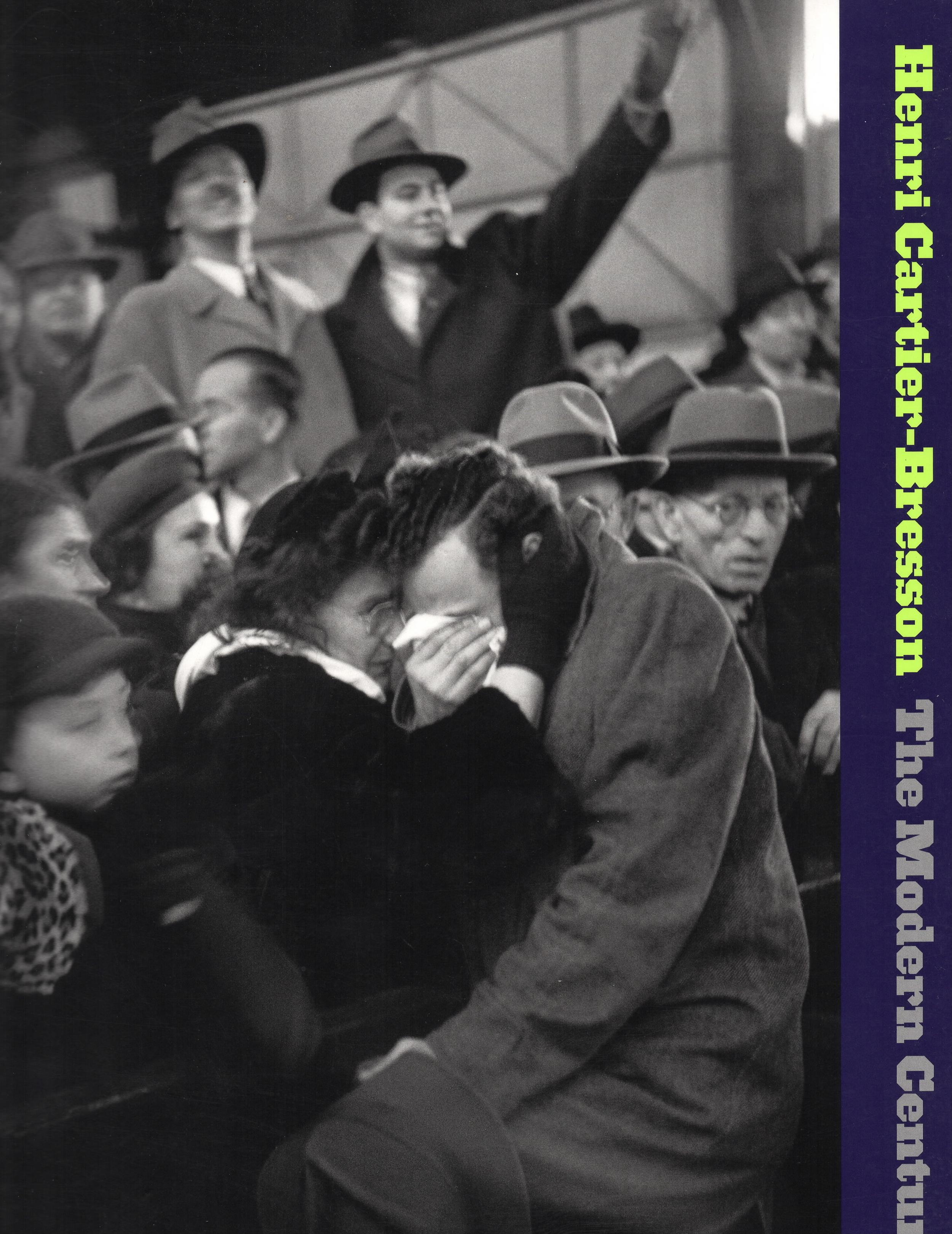 Cover of the Museum of Modern Art's 2010 Retrospective of Henri Cartier-Bresson The Modern Century, copyright 2010, Museum of Modern Art (under Fair Use)