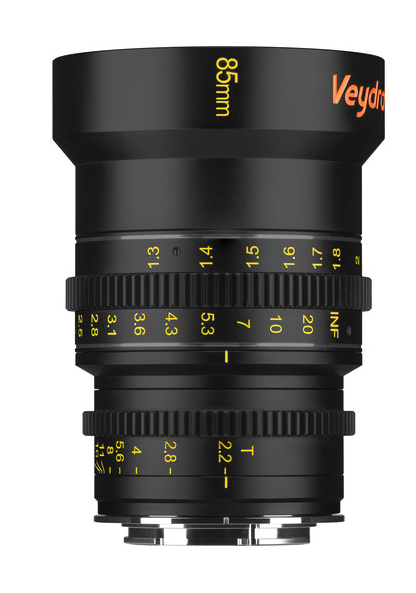 At just under $1,000 last time I looked, this is by far my favorite geared cine lens. In fact, if I were in the market for a set of primes, the Veydras would be it. They are a quarter the price of the usual suspects, but give up very little in the way of optics while offering a beautifully weighted, long-throw manual focus.