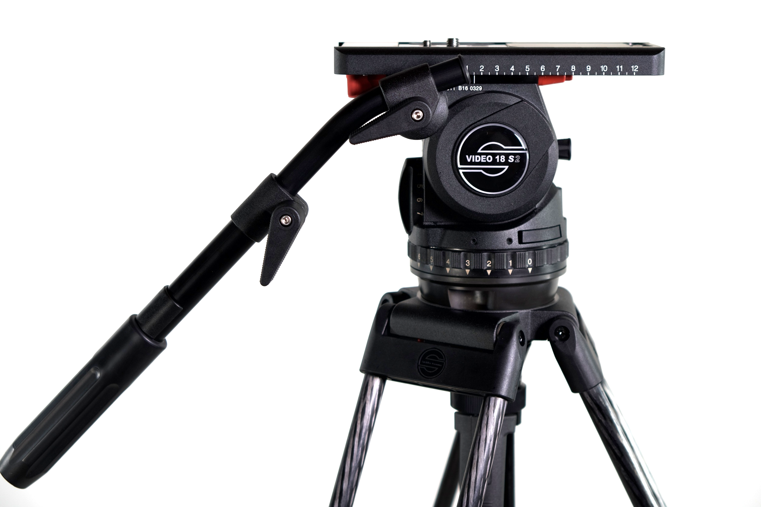 Sachtler Video 18 S2  is by far the best -- and most expensive ($5,250)-- fluid head I've ever used. Ditto for the sticks,  Sachtler Speed Lock CF ($1,890)