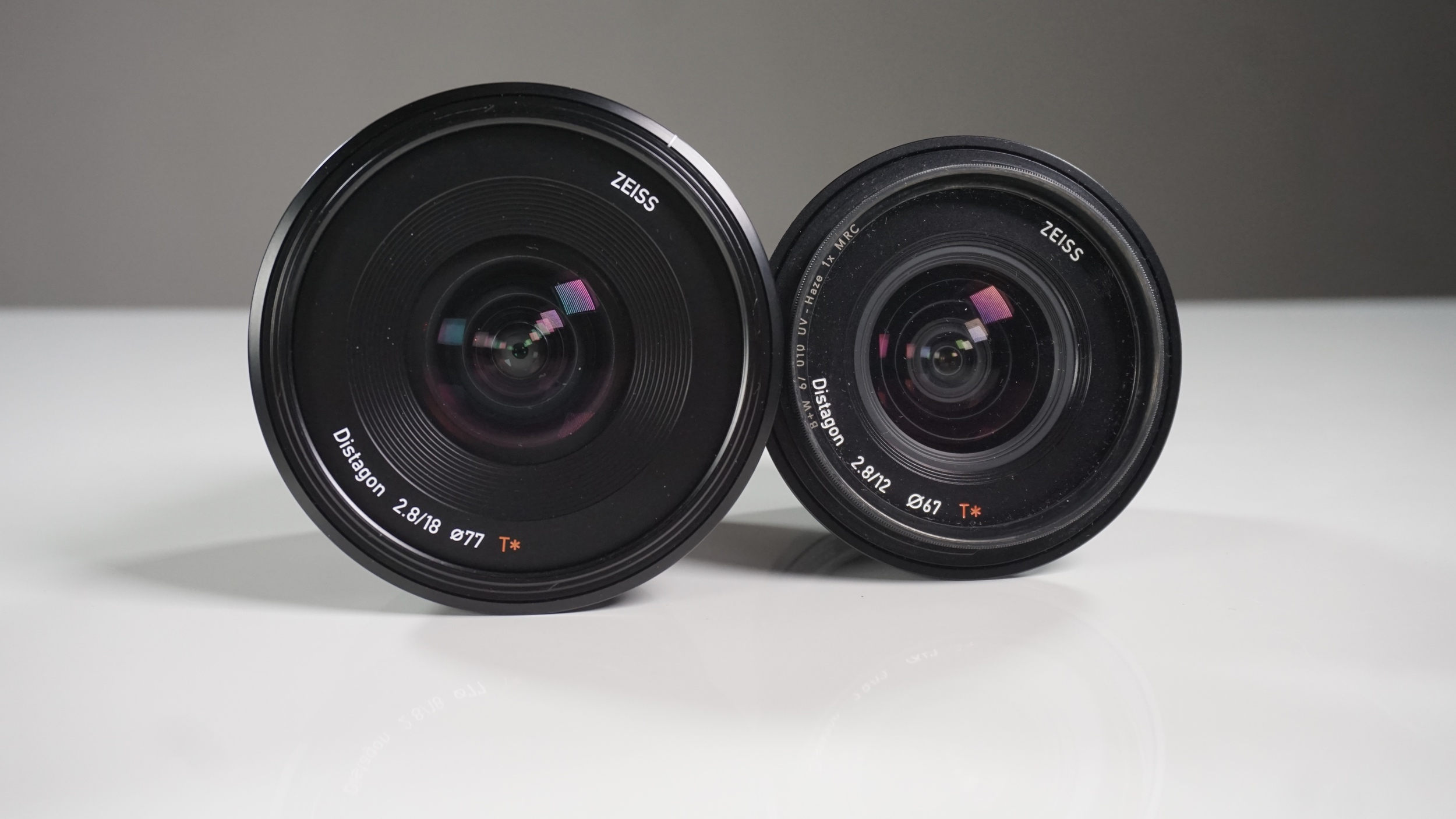 Both lenses are also surprisingly light. Autofocus is quick and quiet.