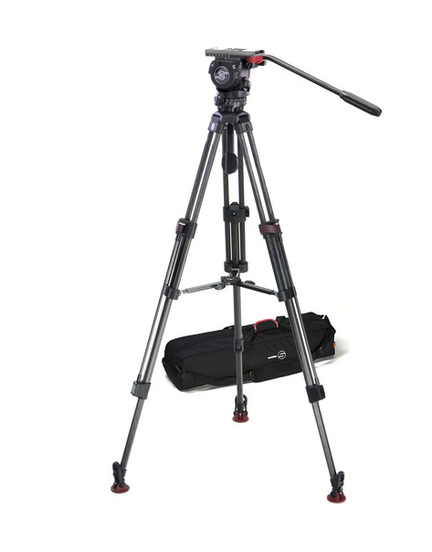Sachtler 0450 FSB-6T Head with 75CF Tripod and Mid-Level Spreader,  $2,025 at B&H . This is the original, and still  very appealing .