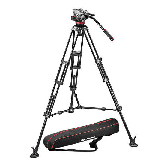 Manfrotto makes fine products. I own a 502A head and can vouch for it. I've never used these sticks. $577.99 from  B&H  or  Amazon