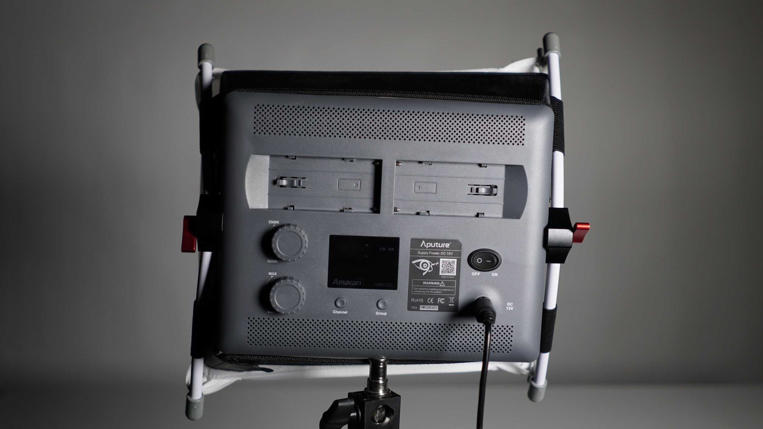 Still, the net result is that Aputure's EZ Box clears the air vents and controls much more easily than the D-Fuse.Now if only it had more surface area and the front diffuser fit more tightly.