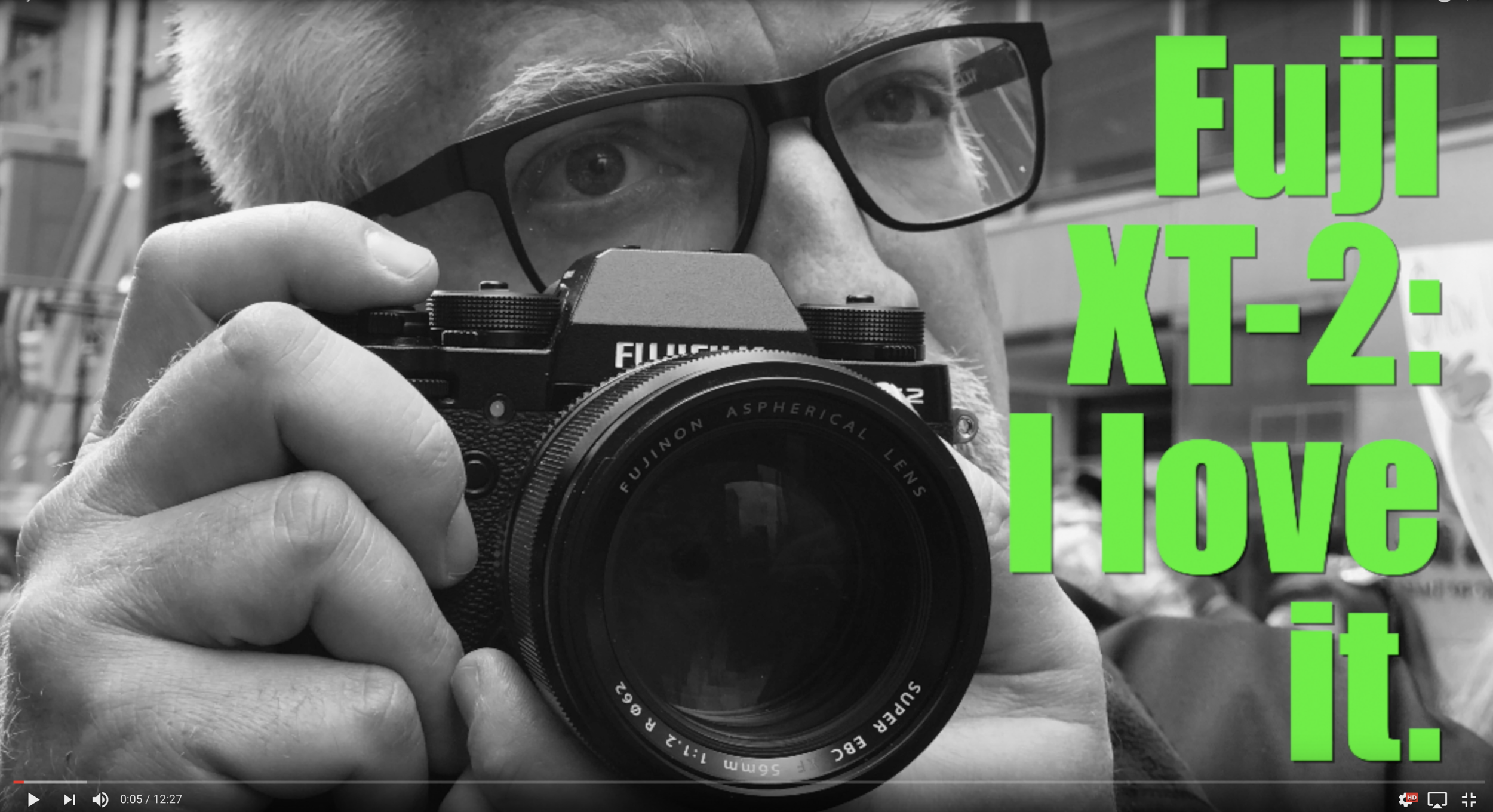 One of many new videos we've done recently, with increasing emphasis on Panasonic and Fuji.