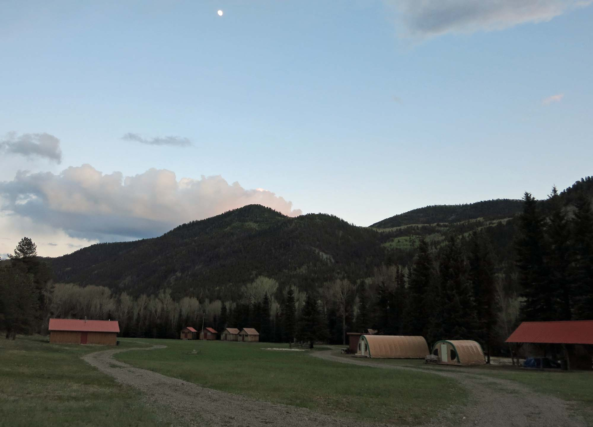 Cabins & Weatherports at camp