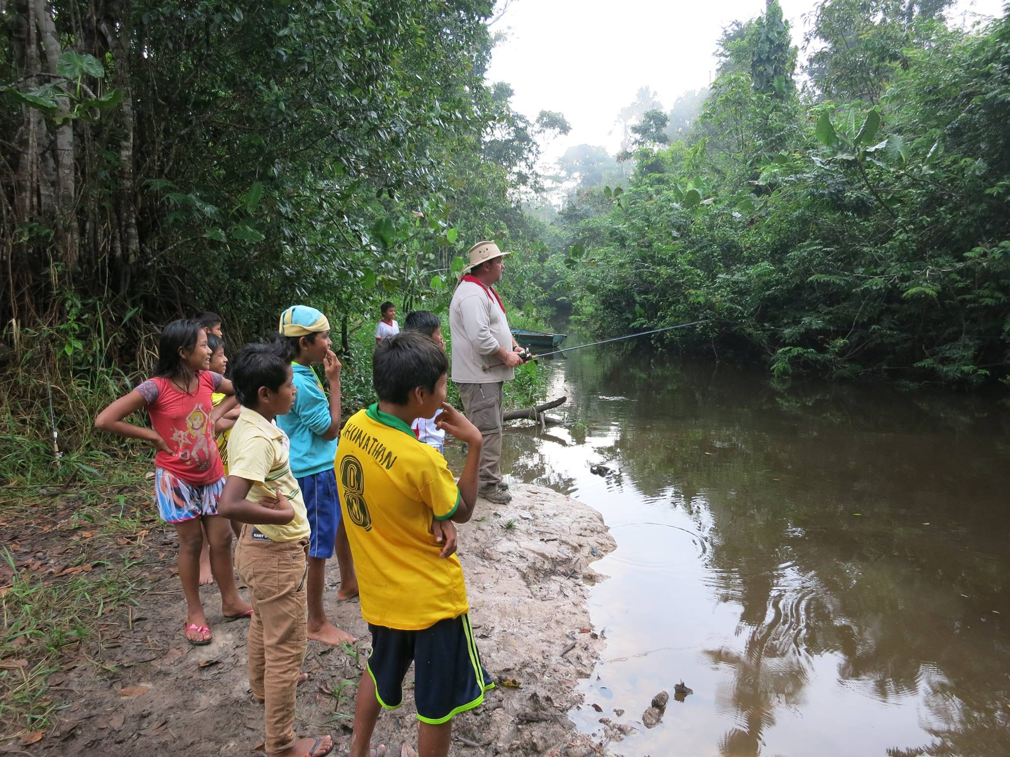Fishing in Peru