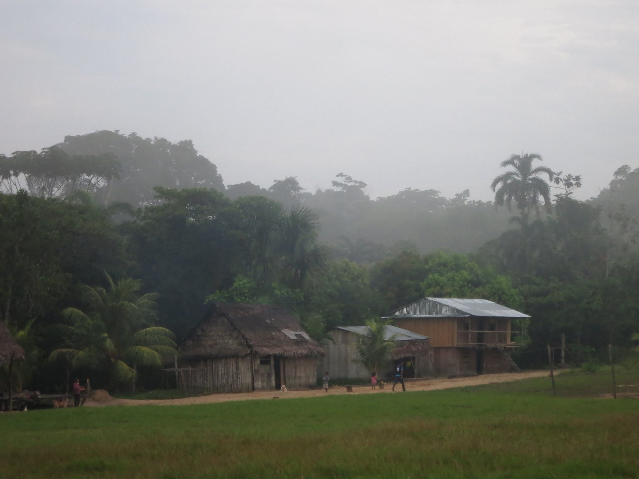 That's not fog or rain, it's the jungle humidity!!!