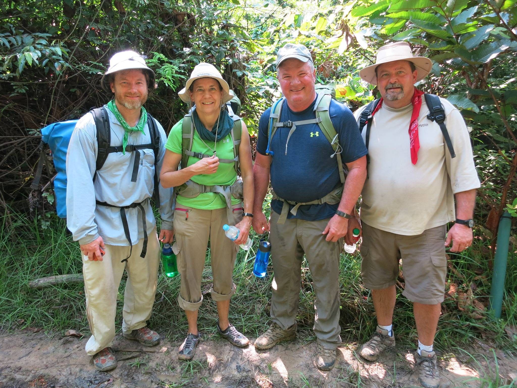 Trek through the jungle