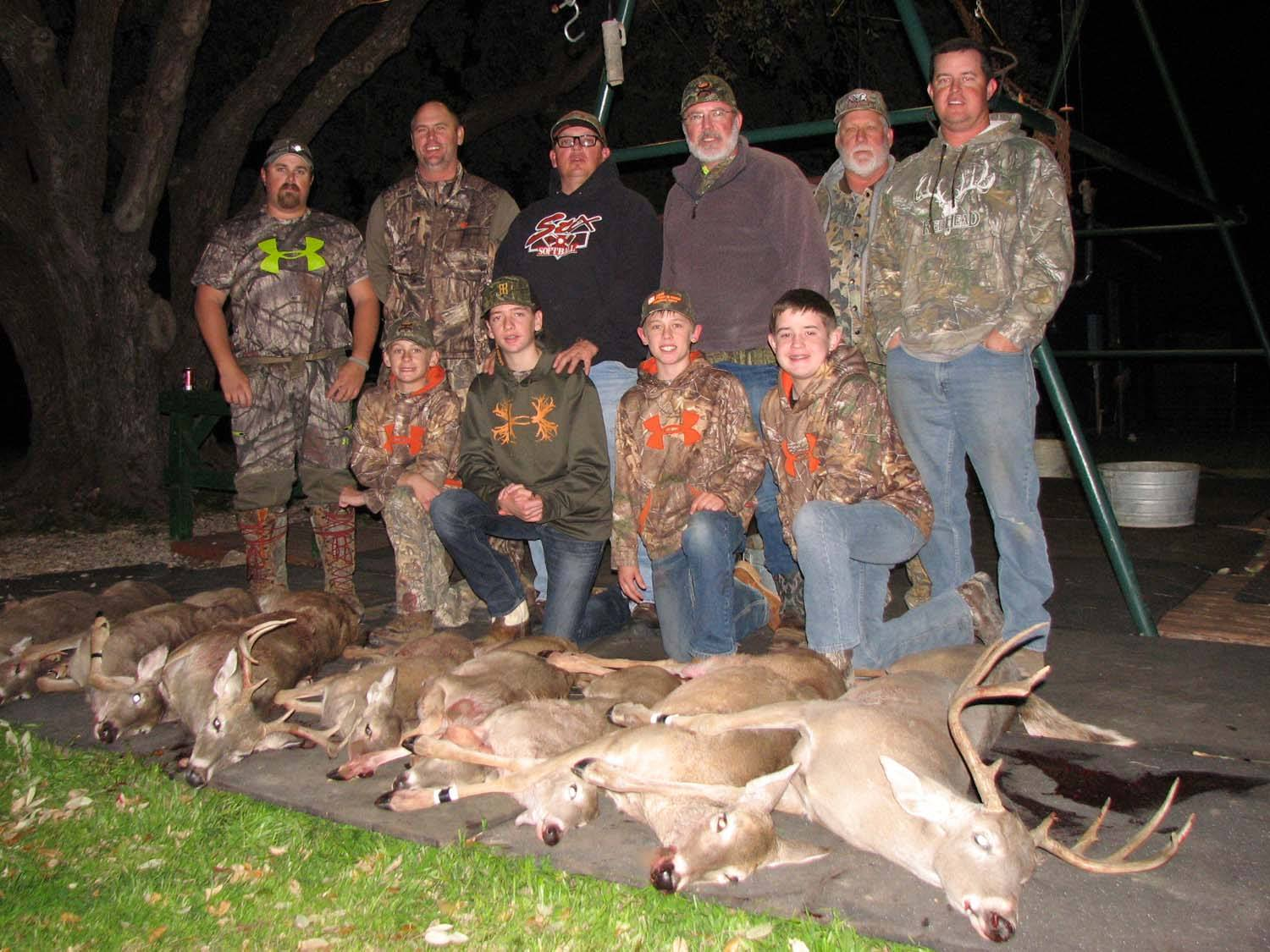 Father/son hunt from Hobbs, NM