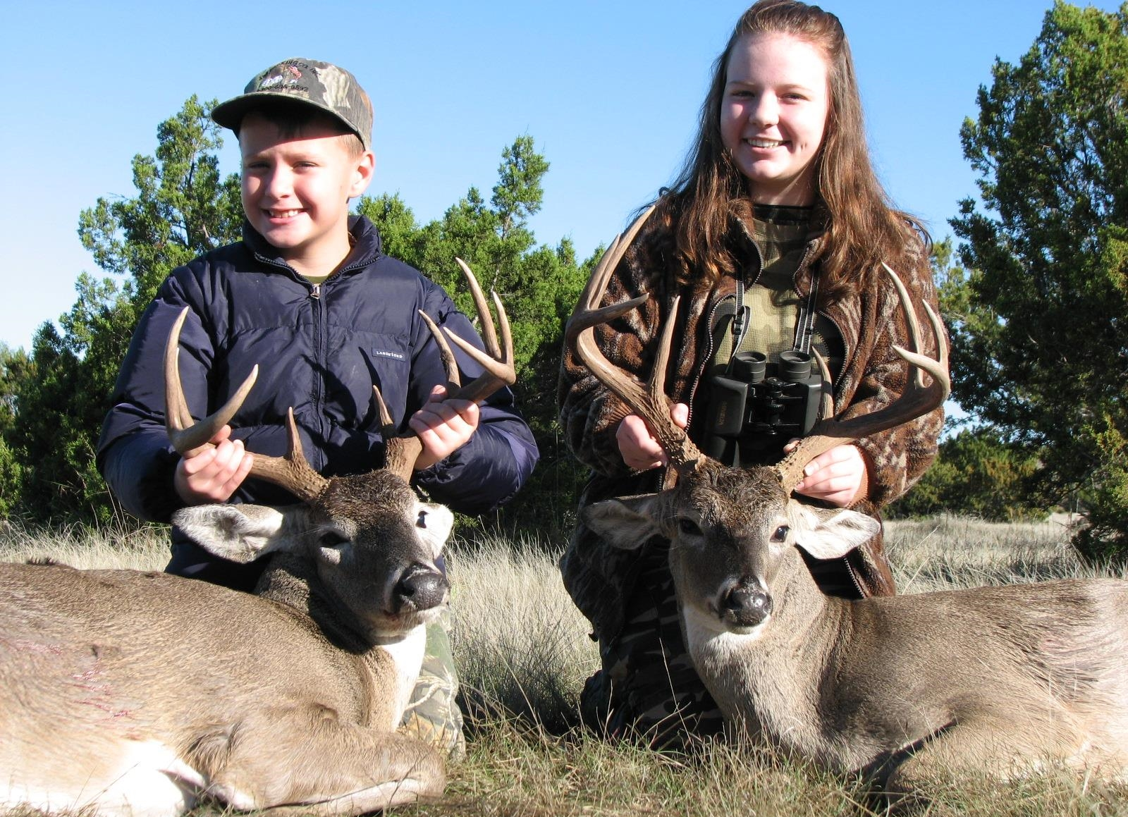 Great hunt this past weekend. Paxton shot his very first buck and Olivia shot her biggest buck to date, as well as accepted Jesus as her savior. Hallelujah!