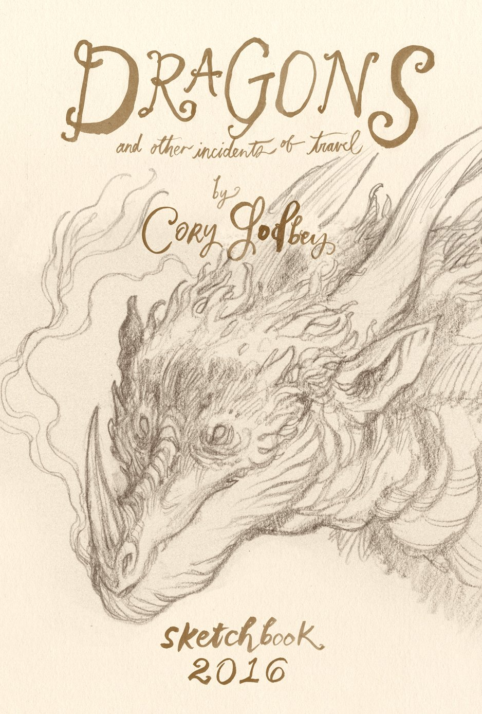 Cory Godbey creates his beautiful annual sketchbooks filled with personal work based on a theme or story.