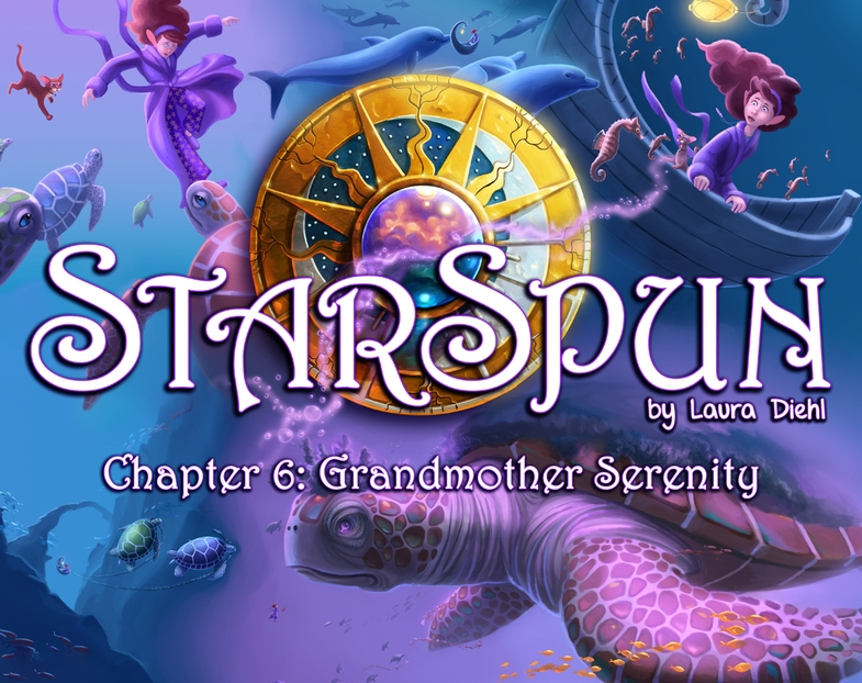 It's hard not to be inspired by  Starspun  with its vibrant colors and glowing light sources.