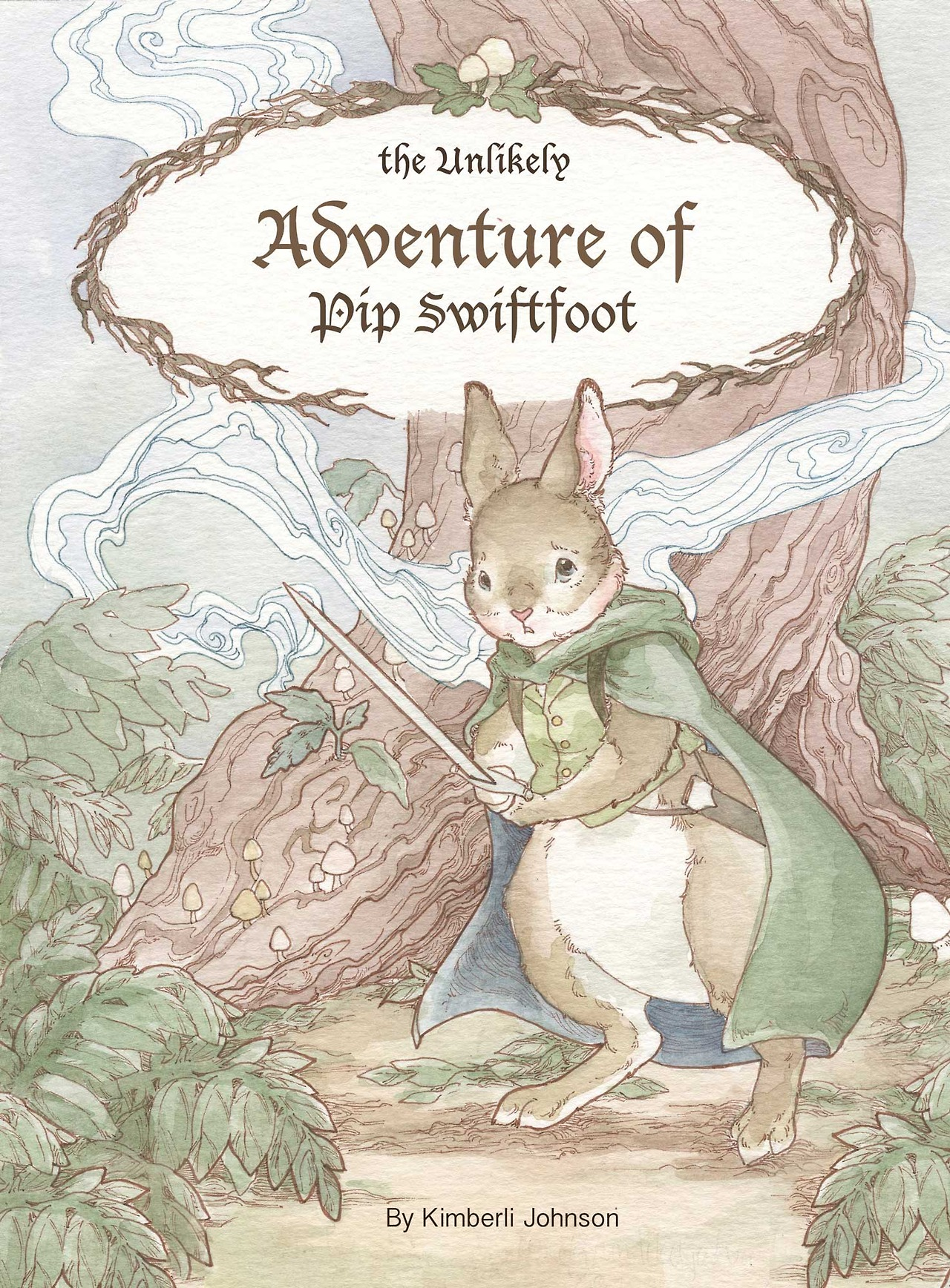 Kimberli Johnson's web comic, The Unlikely Adventure of Pip Swiftfoot, is an uplifting story with gorgeous and meticulous ink and watercolor illustrations.