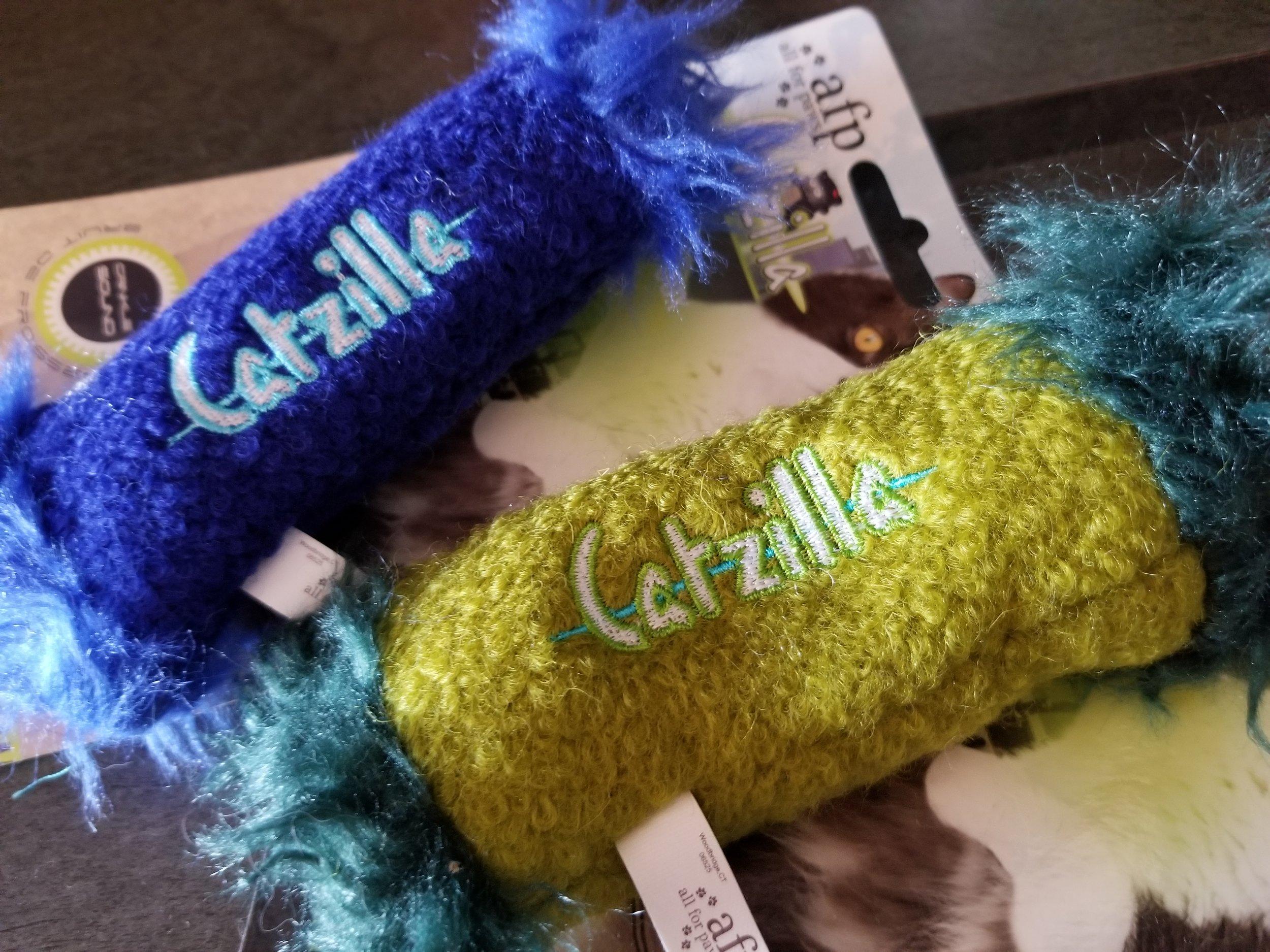 Catzilla Catnip Toys