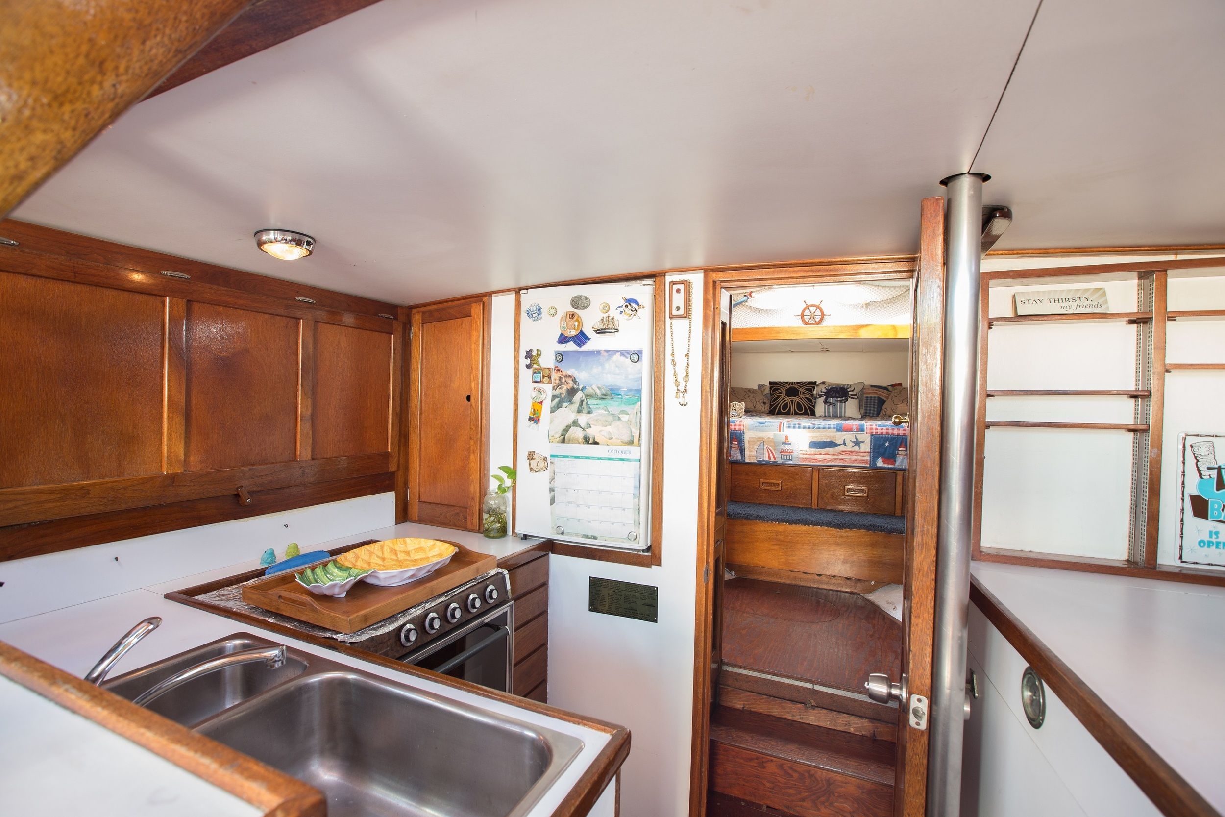 Galley Starboard