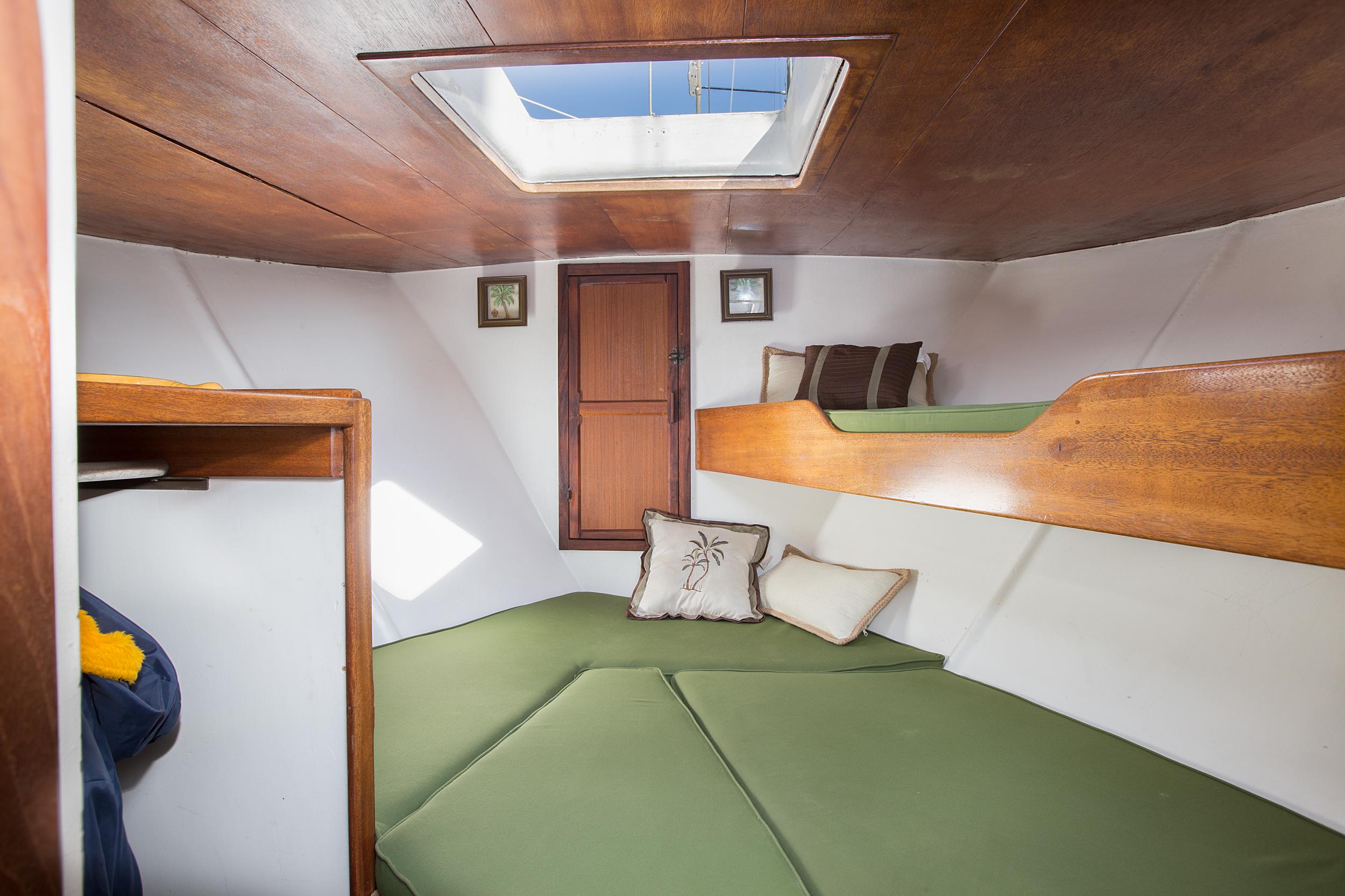 V- Berth Bed