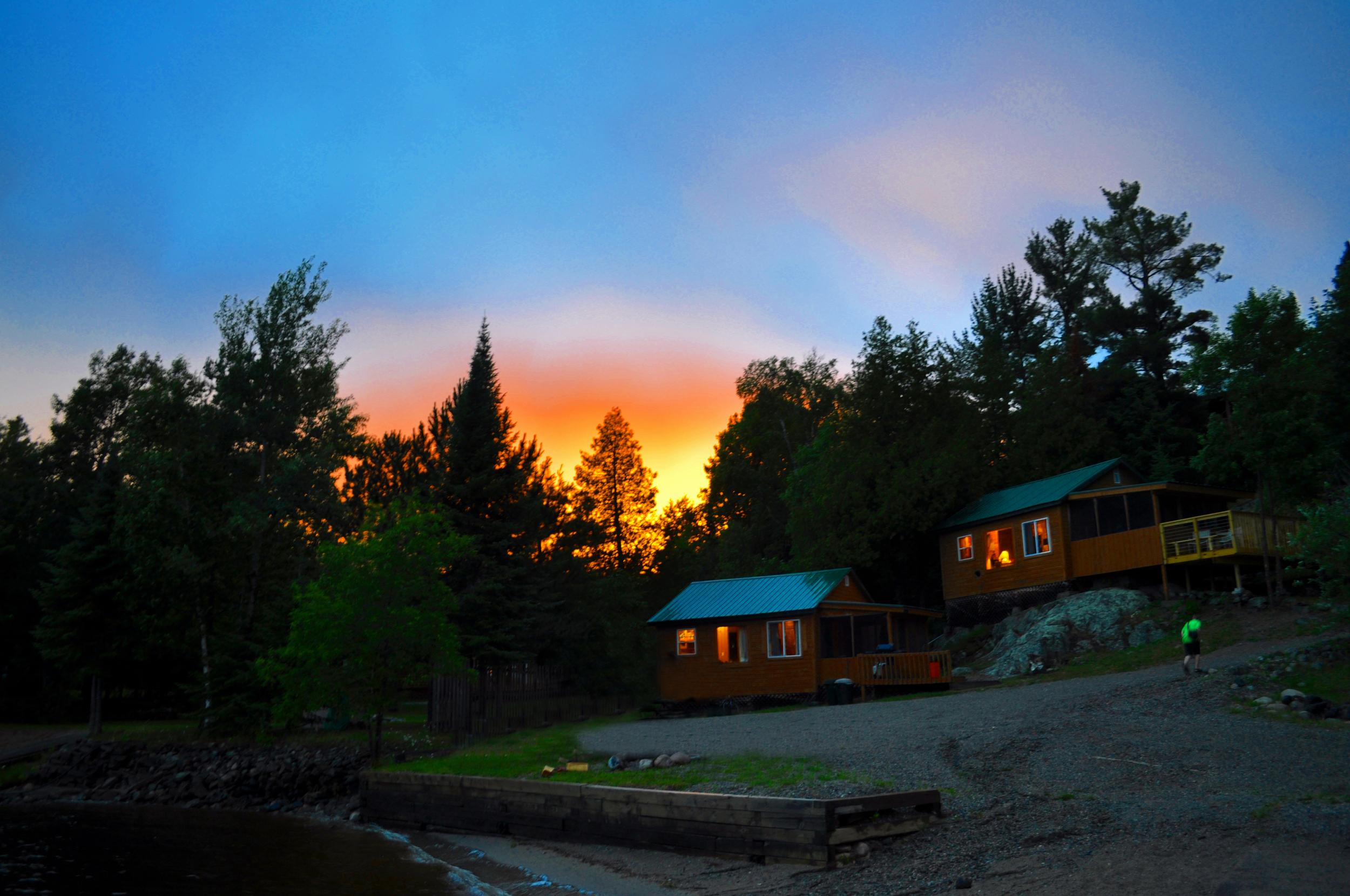 Ely Brilliant Sunset Over Cabin 2009 EDIT copy 2.jpg
