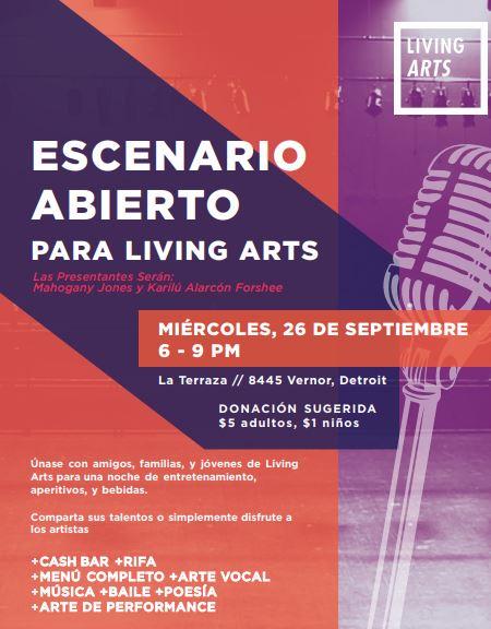 Sept 26 Living Arts Span.JPG