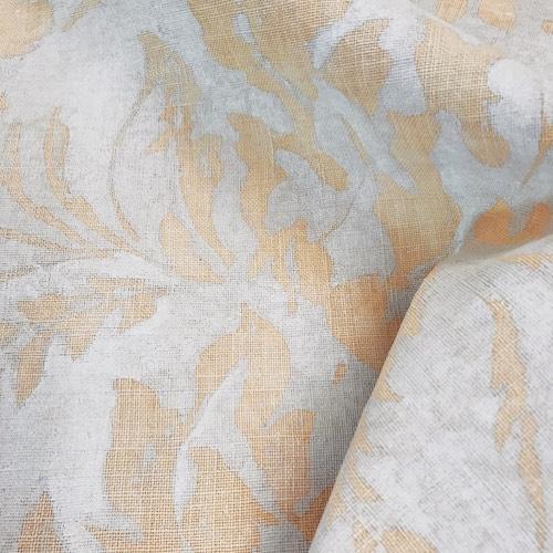 Cheers to my talented friend #beautifulhandprintedfabrics # design # interior # customfabrics  @annmguirestudio 🧡🧡🧡
