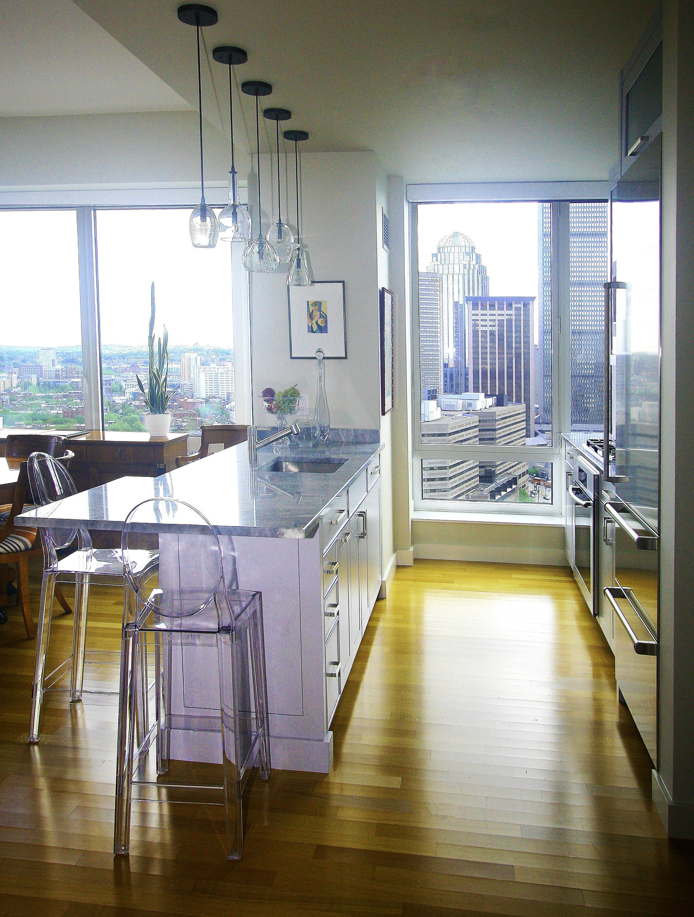 9 - Kitchen - View 3  .JPG