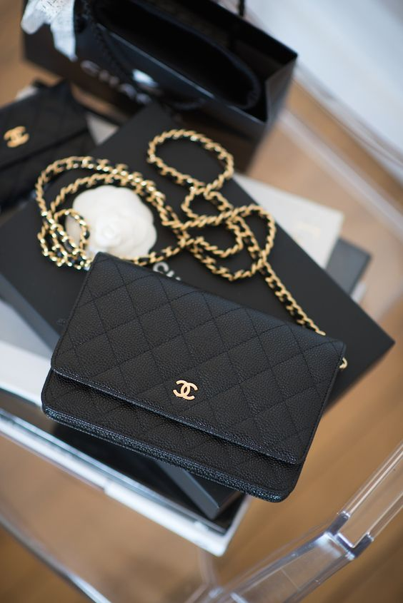 The Chanel 2.55 is made from aniline dyed lambskin leather