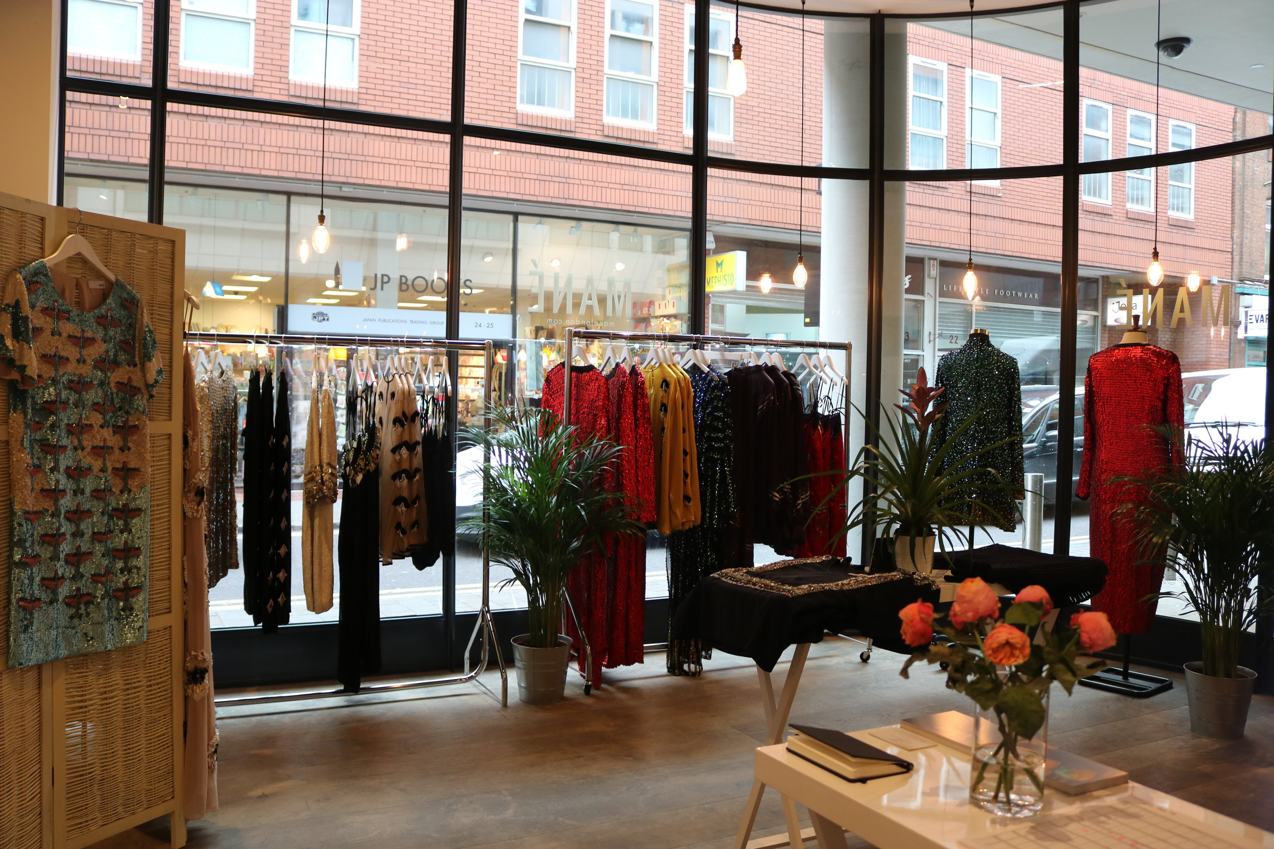 Mané Pop Up at Ham Yard Village
