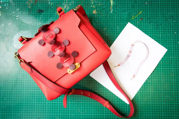 Anya Hindmarch & designing a strap