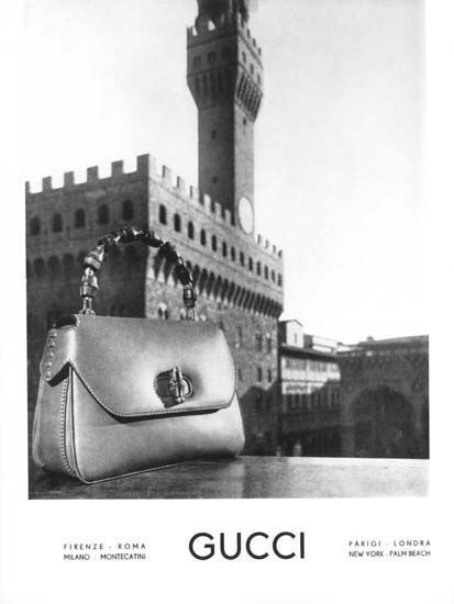 1940's Gucci Advert