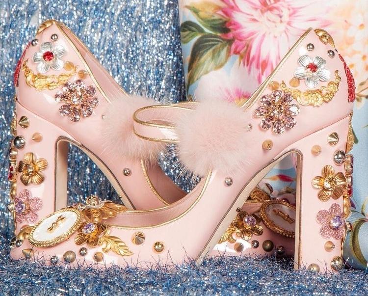 Dolce & Gabbana Embellished Heels