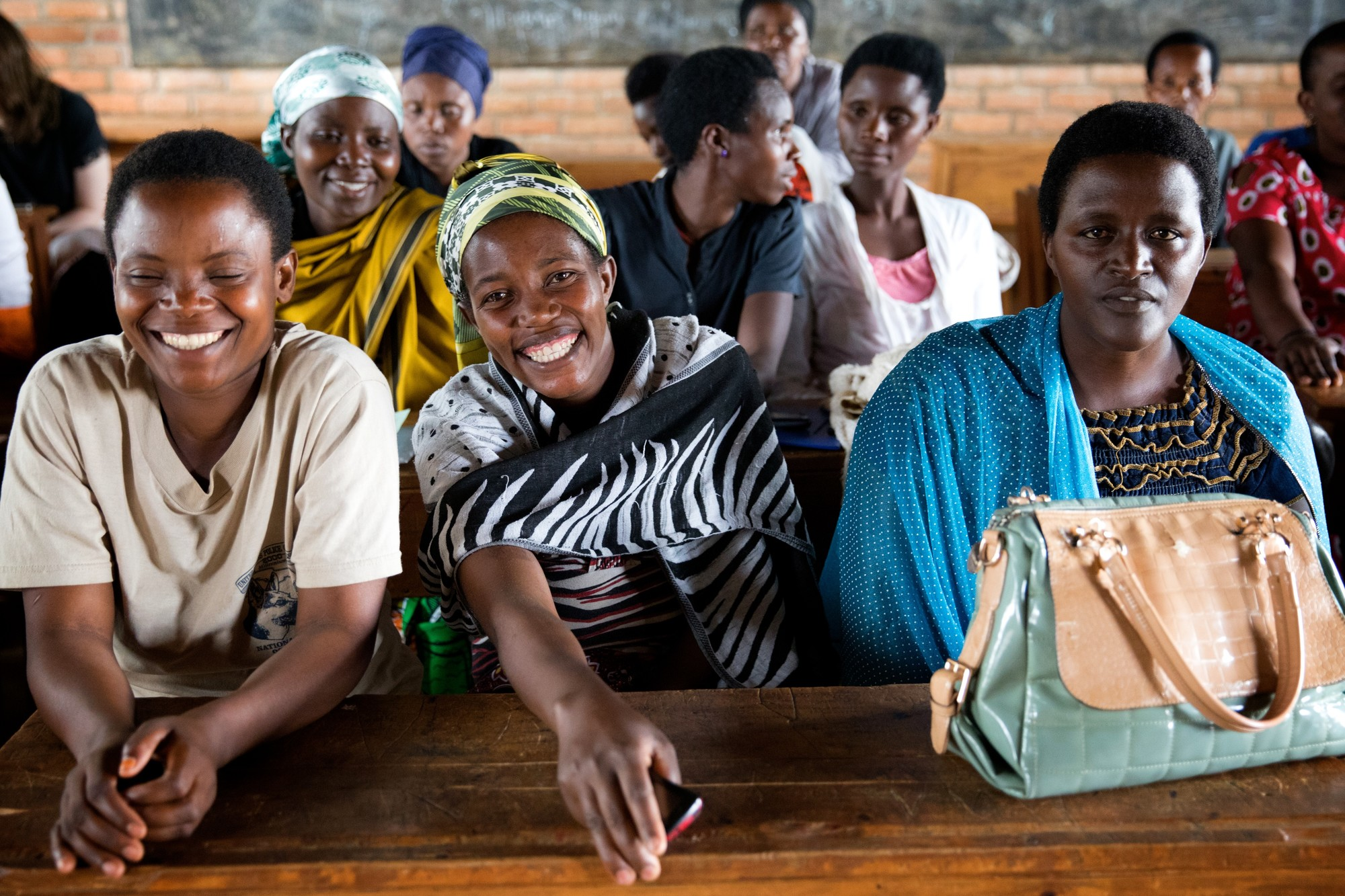 Women for Women International Rwanda class - Image by Rada Akbar