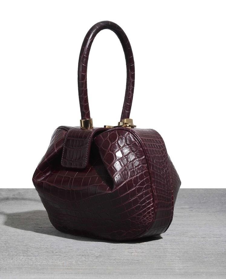 Gabriella Hearst Croc Bag