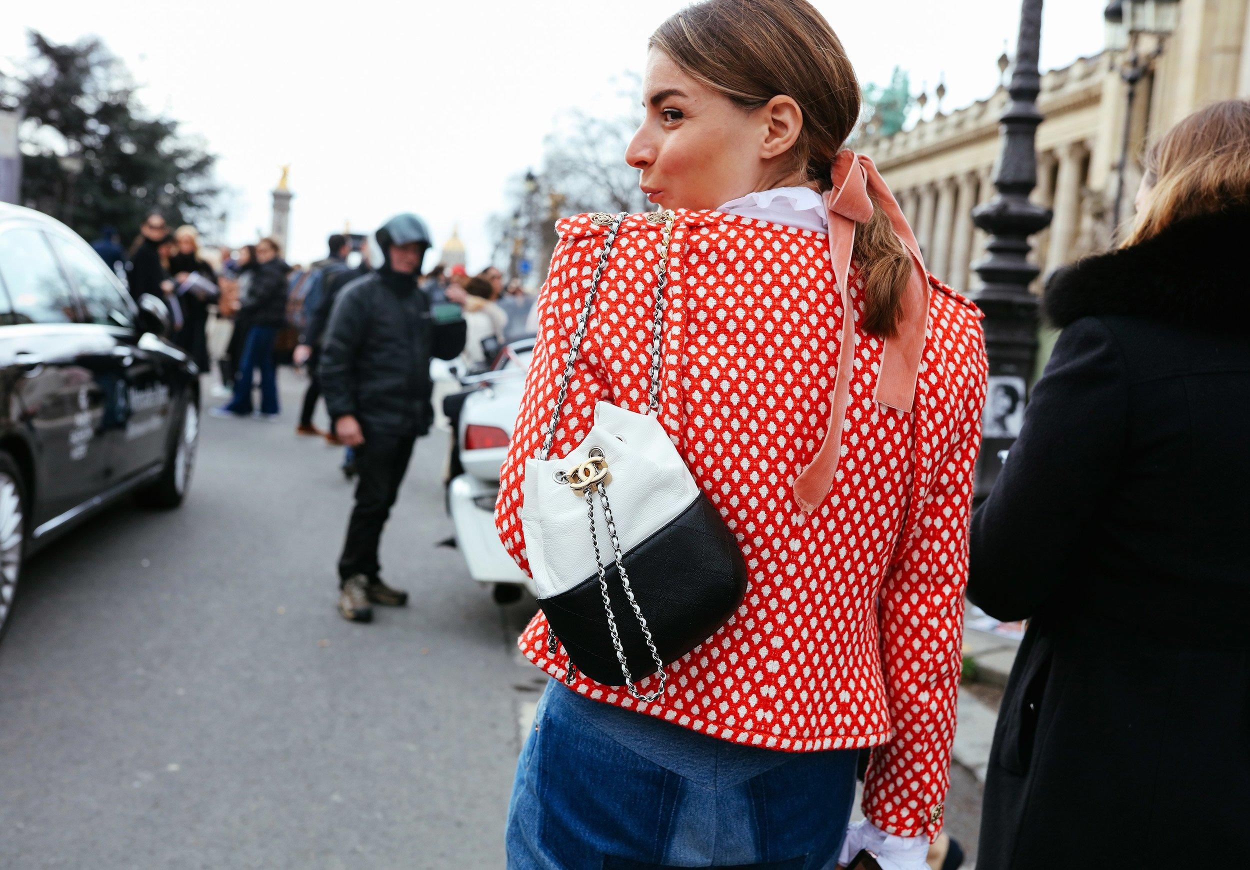 Irina Lakicevic Streetstyle Image: Vogue