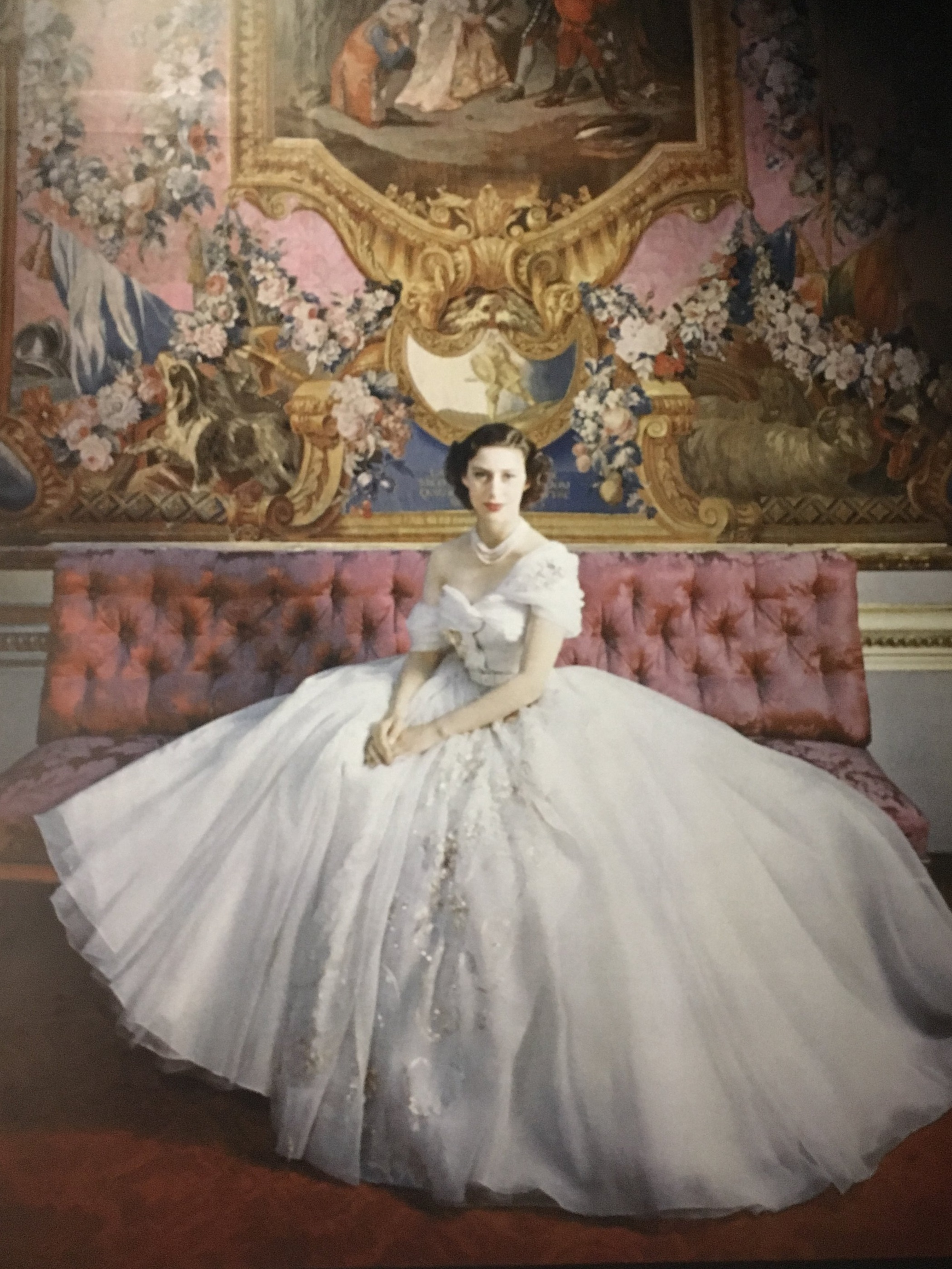 Princess Margaret in Dior on her 21st Birthday