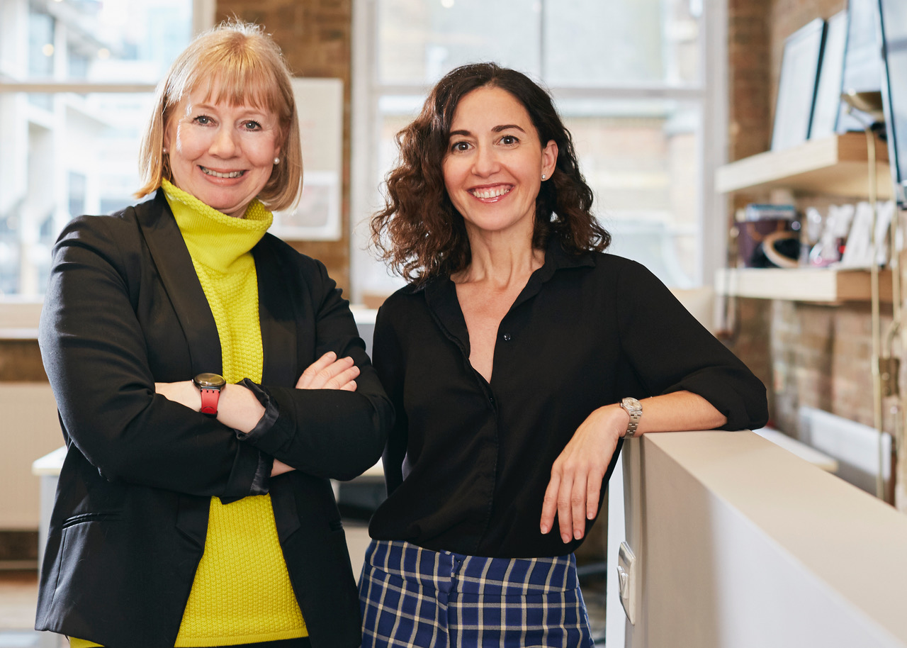 Diana Verde Nieto and Karen Hanton, co-founders of Positive Luxury