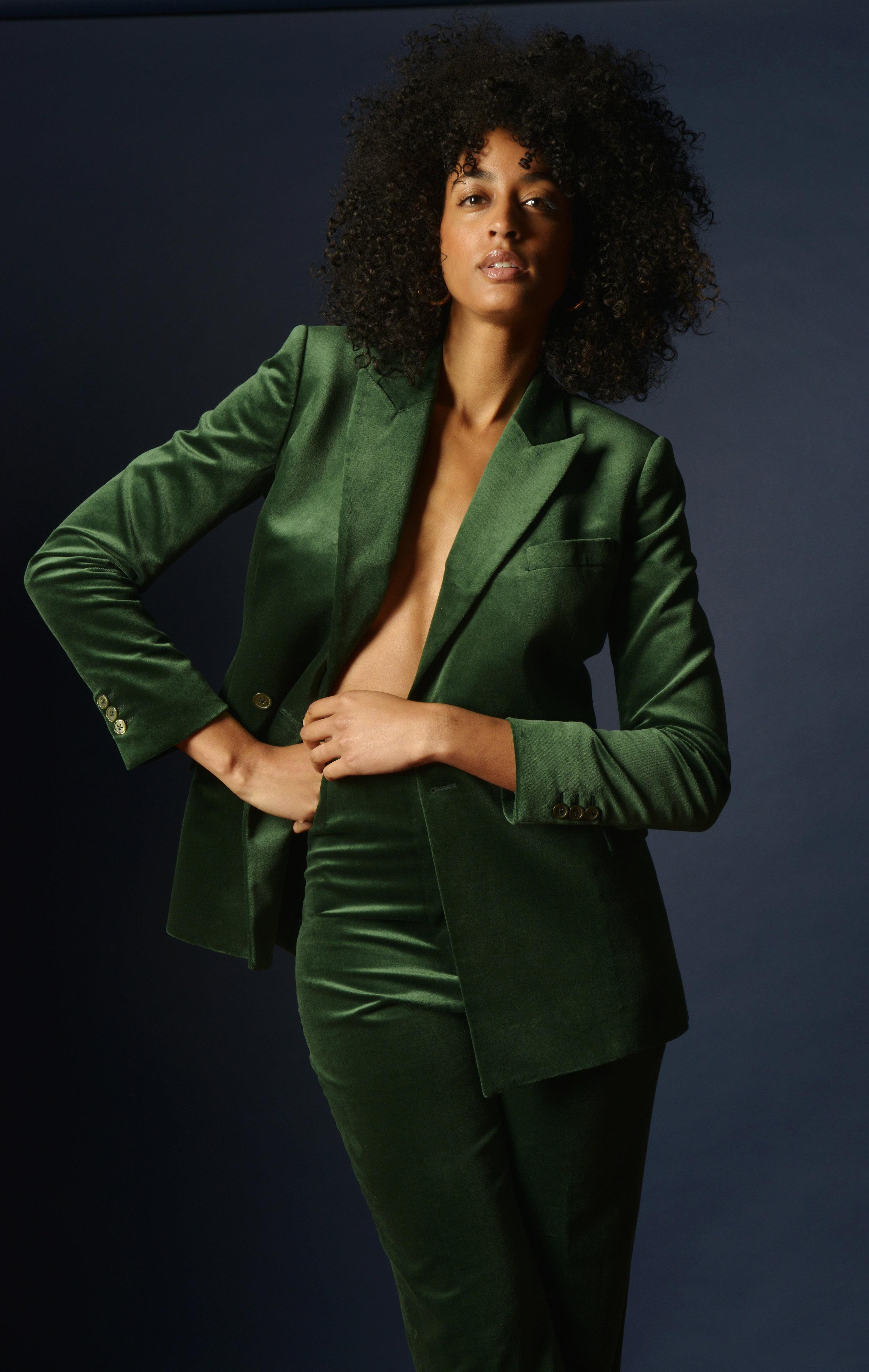 The Spade in Green Velvet