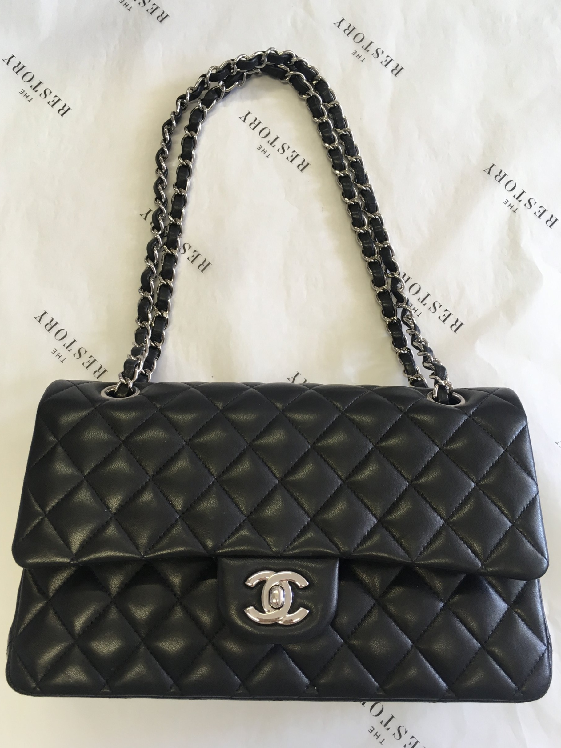The classic Chanel flap bag