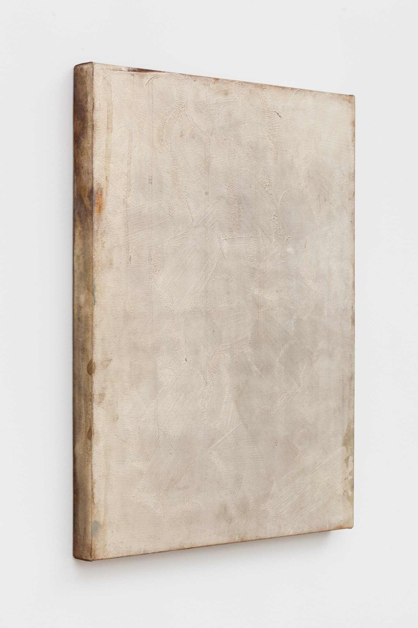 Type , 2014, copper electrotype, raw patina, 24 x 18 x 1.5 inches, (61 x 45.7 x 3.8 cm)