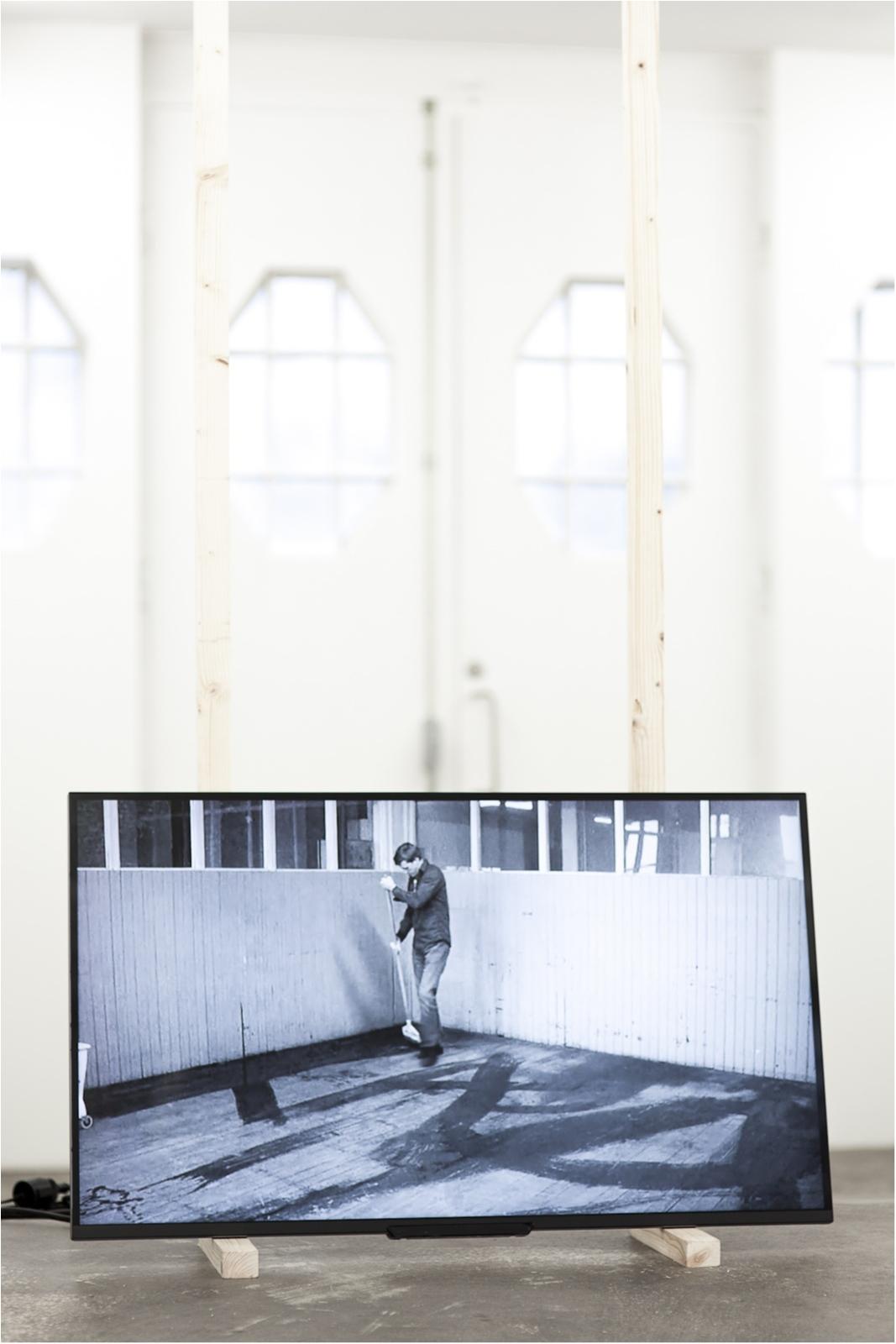 Cleanings , 2010, digital video, 6 min 54 sec loop