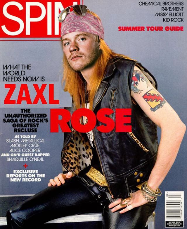 This isn't something you wanted. It's something you needed. . . . #LongLiveZaxlRose