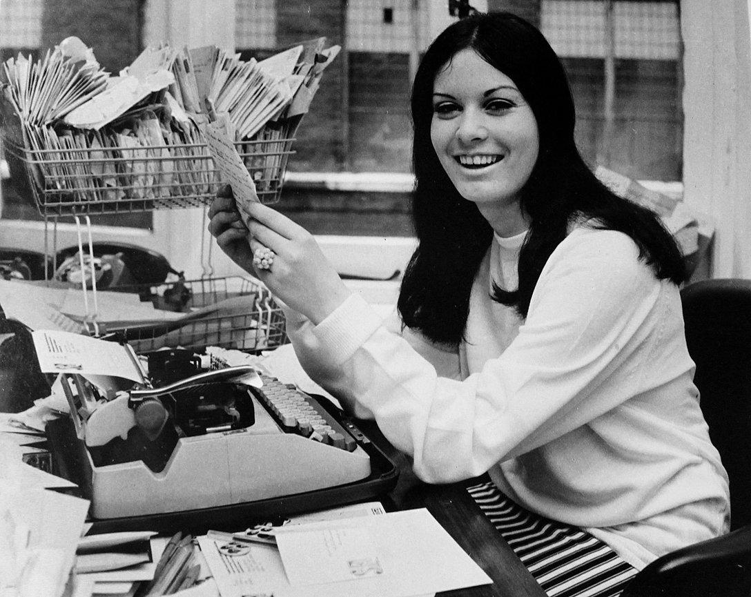 Pauline Corcoran, the original Small Faces Fanclub Secretary.