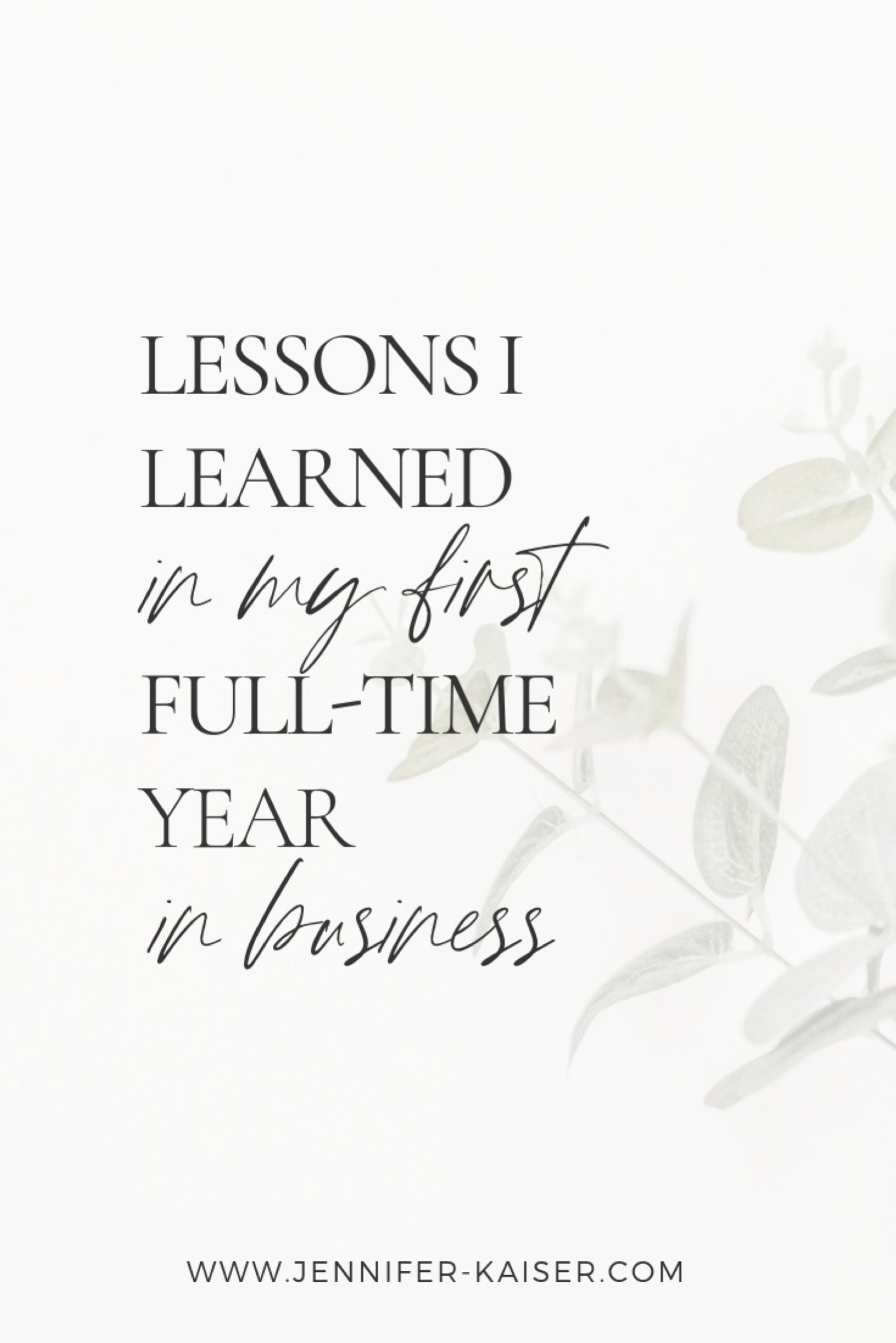 private photo editor, lessons i learned in my year year in business