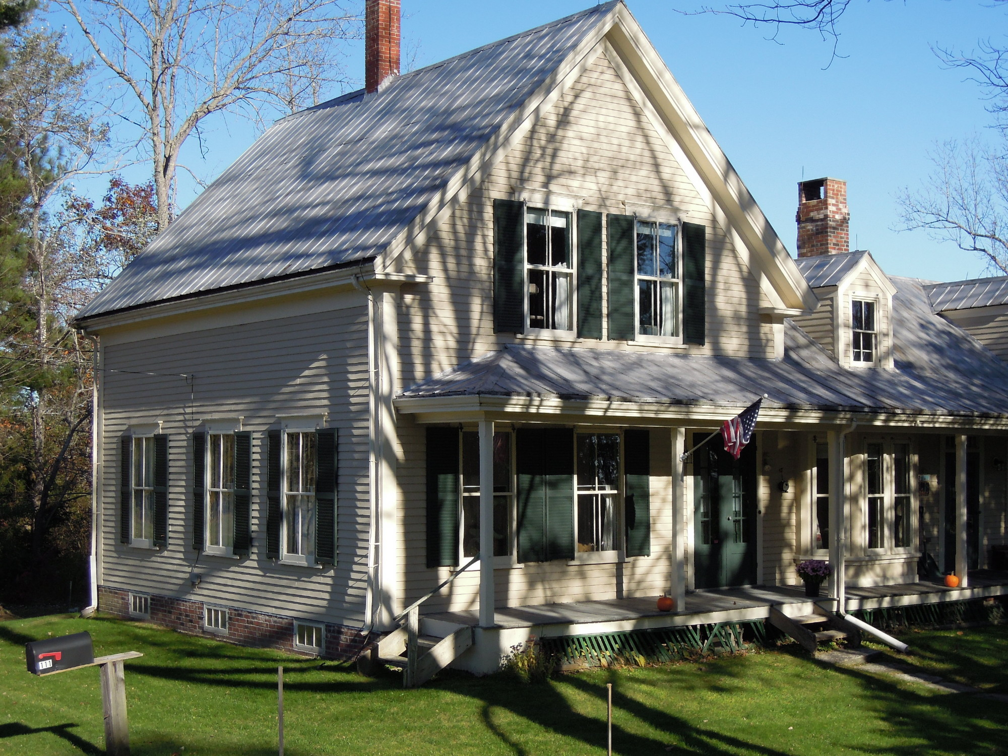 This home, circa 1930, needed a new roof to replace an old and failing tin roof.