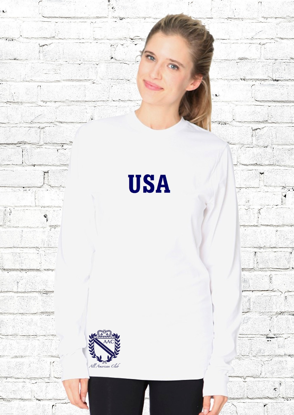 AAC USA Shirt - $42.00Homegrown. Homespun. Homemade. Right here in the USA. This is the softest, most durable cotton you will ever touch.Unisex.100% CottonClassic fit.Available in: White with RedWhite with NavyMade in the USA.BUY NOW