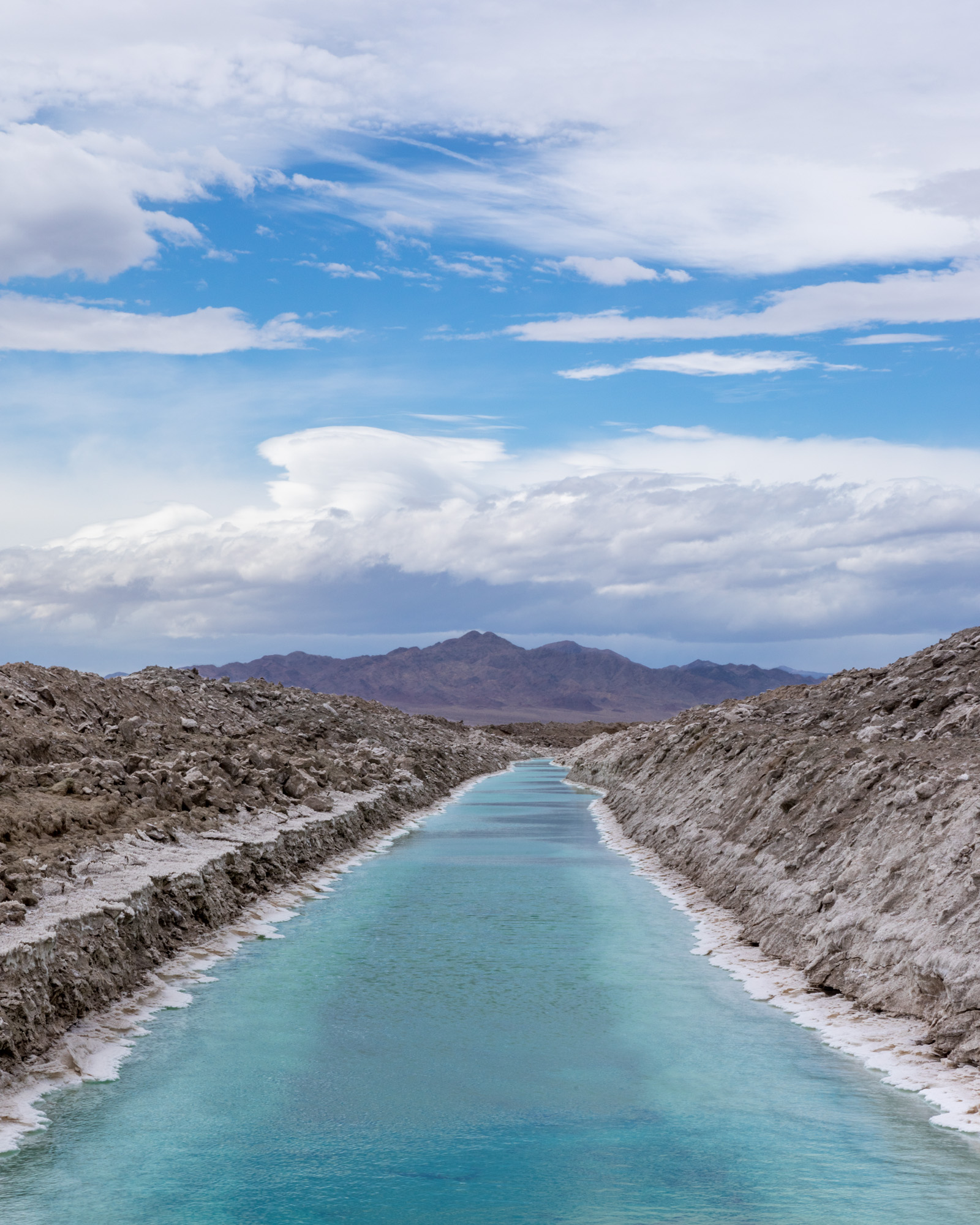 (Salt) Water in the Desert