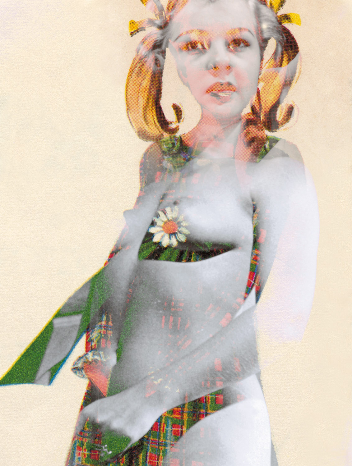 "Large Woman 6 , 2005, 63 1/8 x 49 1/2"", digital print, plexiglass and frame."