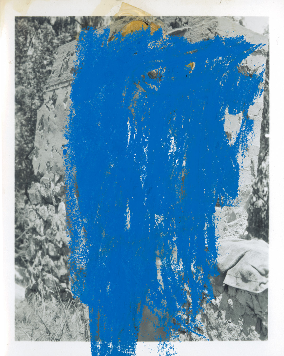 """Nude 2 , 2003, 19 1/2 x 15 3/4"""", digital print and frame. (work on paper / edition of 5)"""