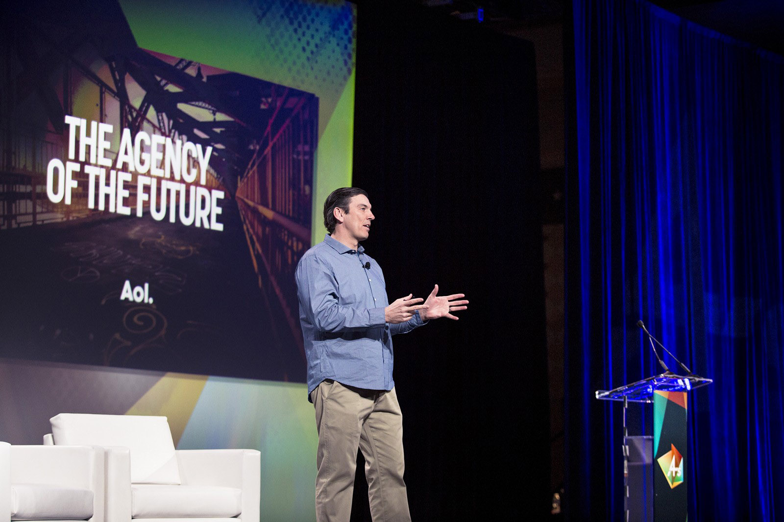 AOL CEO Tim Armstrong  to Media Agencies:  Don't Fret About Fees, Look at Your Opportunity
